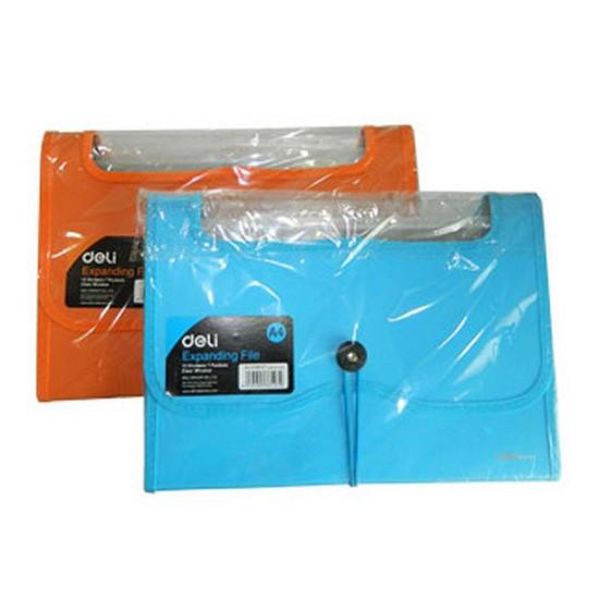 Cặp Xốp 7 Ngăn Nhựa Trong Deli - 38127