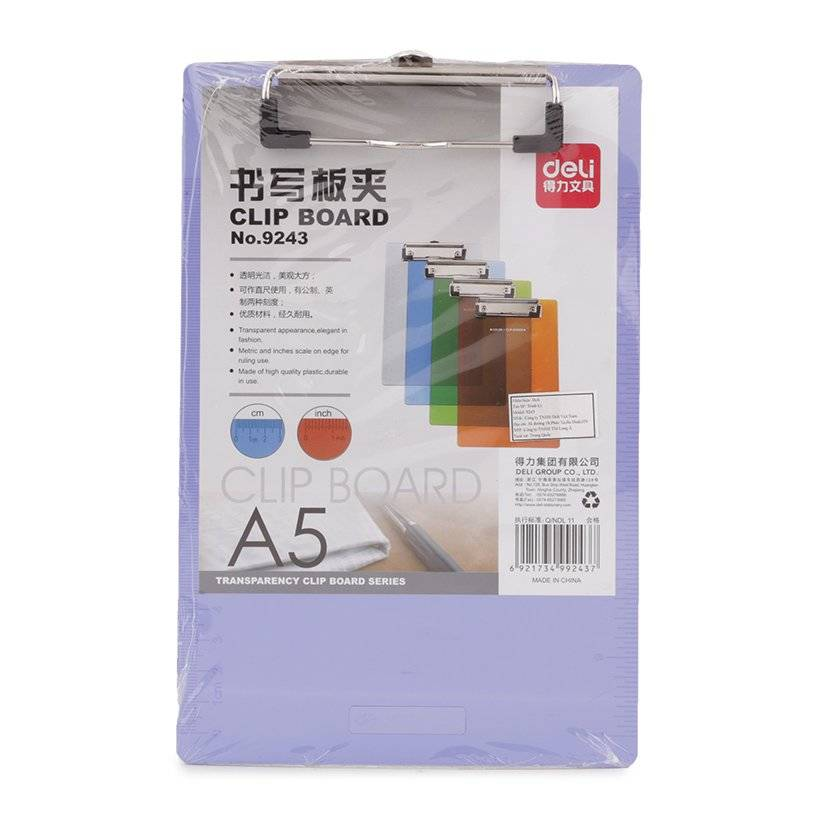 Trình Ký A5 Deli - 9243