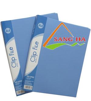 Bìa kẹp A4 (1 ngắn) Thiên Long FO-CF02