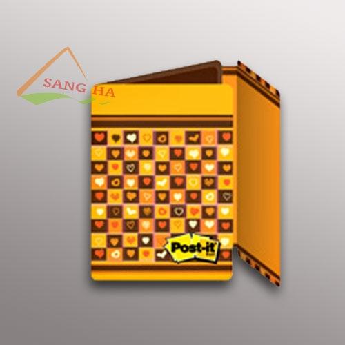 Sổ tay ghi chú 3M mẫu màu vàng sáng tạo 657-PS