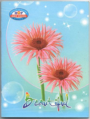 Tập hiệp phong 96 trang ĐL 58 kẻ ngan các loài hoa