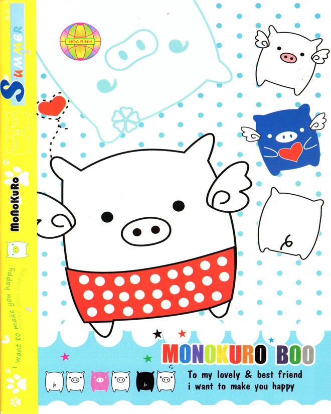 Tập 200 trang hoà bình HeoBoo&Snoope 4Õ in