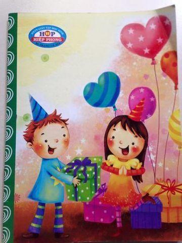 Tập 200 trang hiệp phong cao cấp ĐL 58 hình tuổi thơ