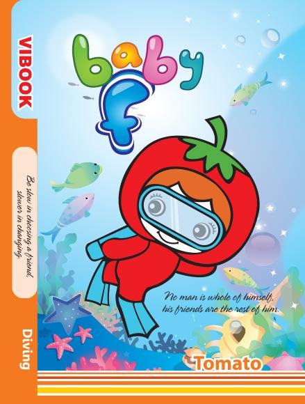 Tập ViBook Baby F in oly 96 trang