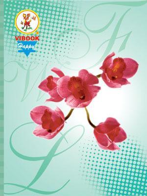 Tập ViBook Happy thế giới hoa in oly 96 trang