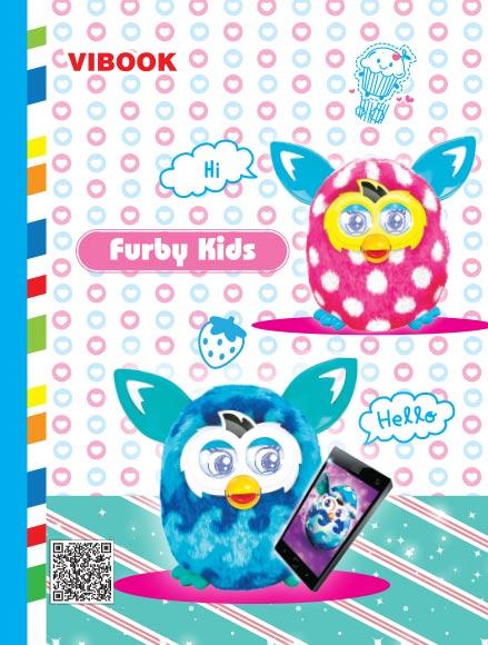 Tập ViBook 48 trang Furby Kids in caro
