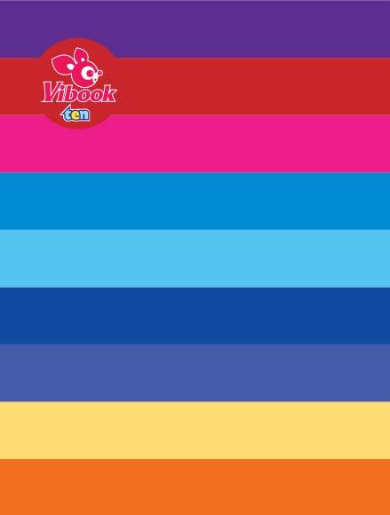 Tập ViBook 96 trang ten sắc màu in oly