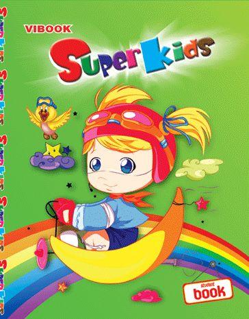 Tập ViBook Gold Plus Super Kids 100 trang in oly
