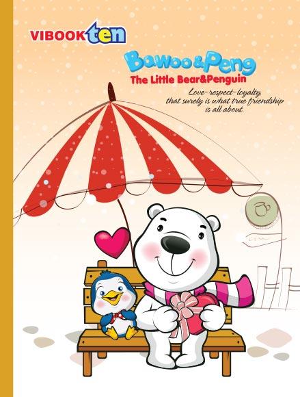 Tập ViBook ten Gấu Bo in oly