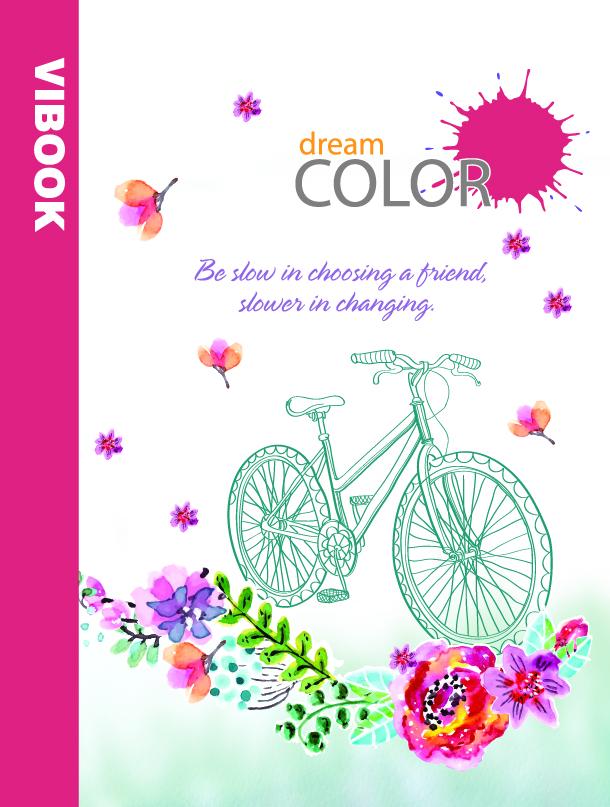 Tập ViBook Happy 96 trang Dream color in oly