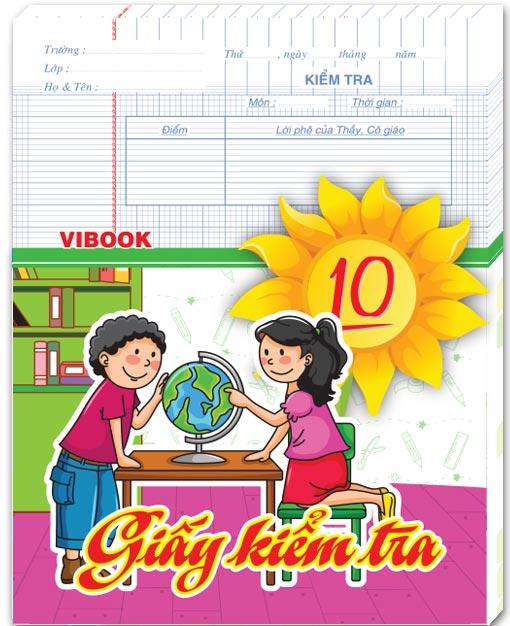 Giấy Kiểm Tra ViBook Vĩnh Tiến (ĐL100)