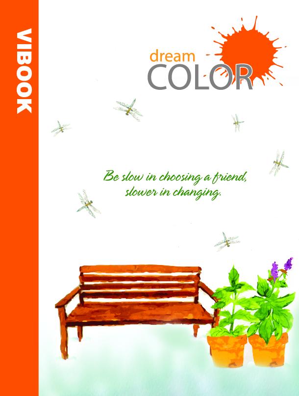 Tập ViBook Happy 96 trang Dream color in caro