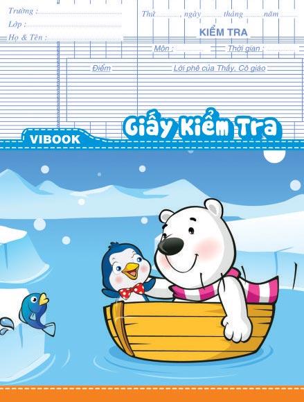 Tập ViBook Kiểm Tra 84Trang ĐL80 Vĩnh Tiến