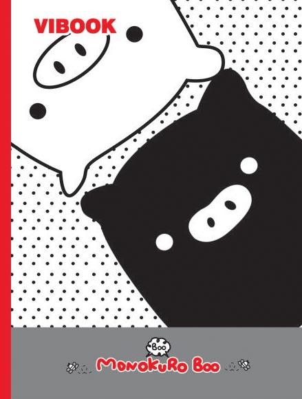Tập ViBook Happy 96 trang Mono Kuro Boo in oly
