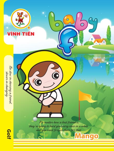 Tập ViBook 200Trang Baby F in oly
