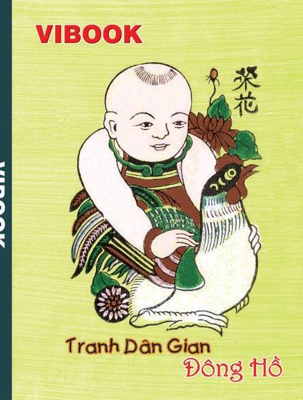 Tập ViBook 200Trang Tranh Đông Hồ in oly