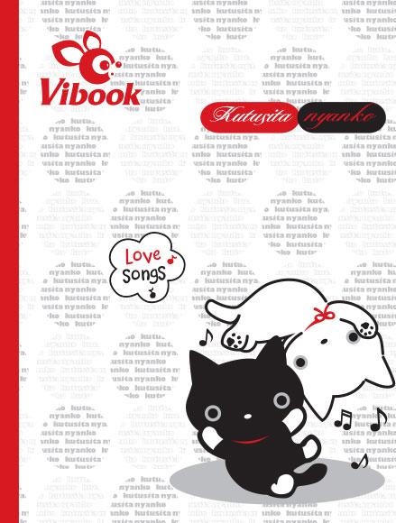 Tập ViBook Happy Mèo Kutusita in oly