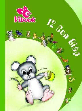Tập ViBook 200Trang 12 Con Giáp in oly