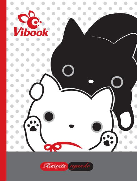 Tập ViBook Happy Mèo Kutusita in caro