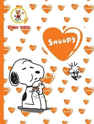 Tập ViBook Happy SNOOPY in oly