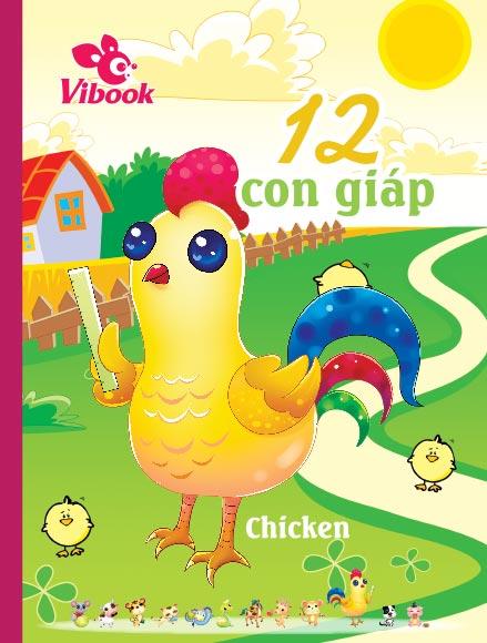 Tập ViBook 200Trang 12 Con Giáp in caro