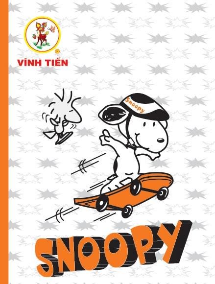 Tập ViBook 200Trang SNOOPY in oly