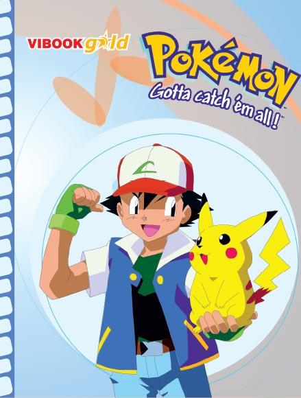 Tập ViBook Gold 100trang Pokemon