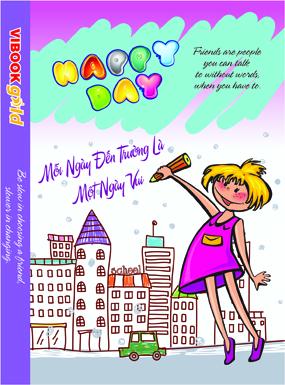 Tập ViBook Gold 100 trang Happy Day