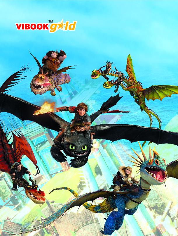 Tập ViBook Gold 100 trang Bí Kíp Luyện Rồng