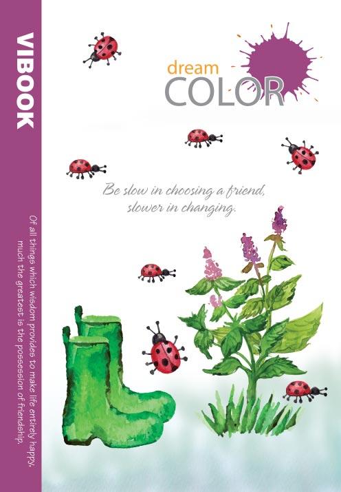 Tập ViBook Sinh Viên 100 trang Dream Color in oly
