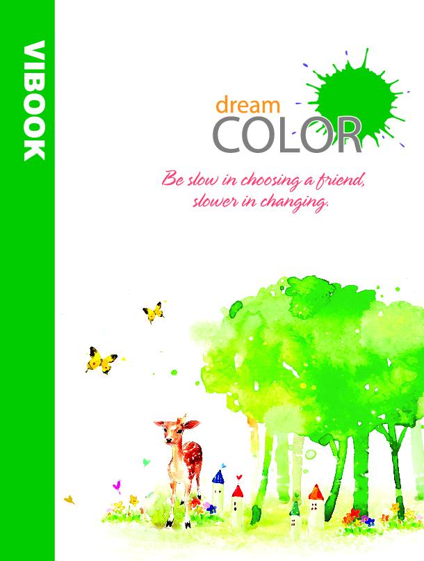 Tập ViBook Sinh Viên 200 trang Dream Color in oly