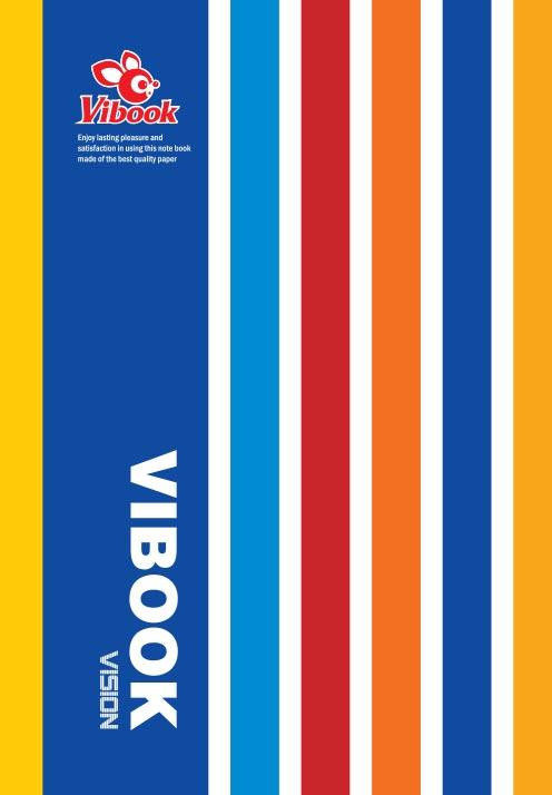 Tập ViBook Kẻ Ngang VISON 160 Trang