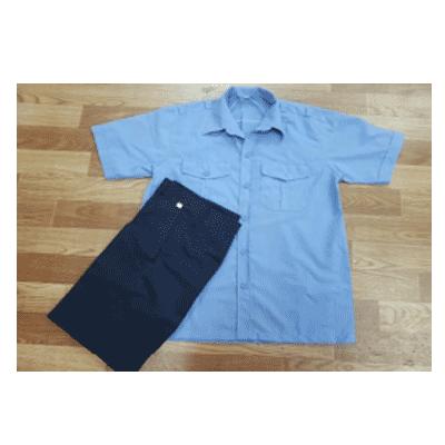 Quần áo bảo vệ tay ngắn DPCN-18353