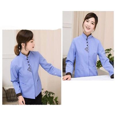 Quần áo công nhân vệ sinh công nghiệp VSCN-17412
