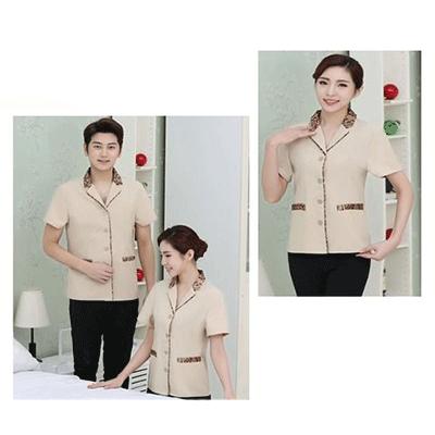 Quần áo công nhân vệ sinh công nghiệp VSCN-17406