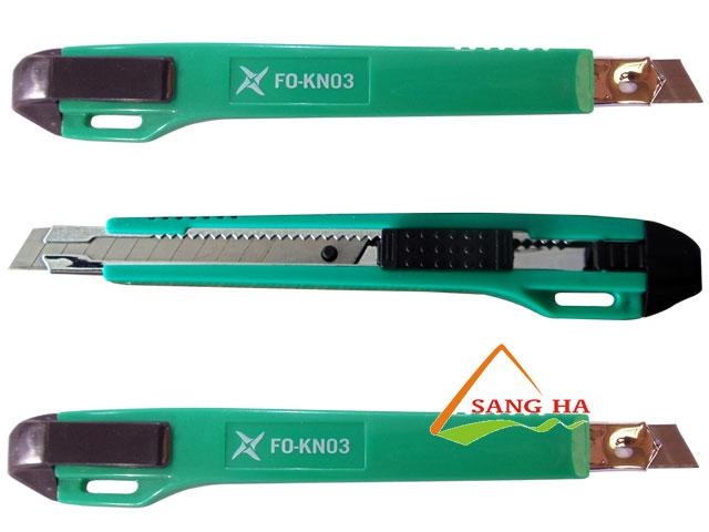 Dao rọc giấy Thiên Long FO-KN03 9mm