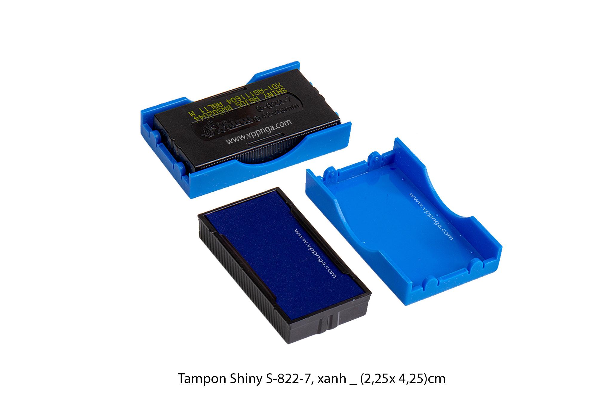 Tampon Shiny S822 - 7 Xanh