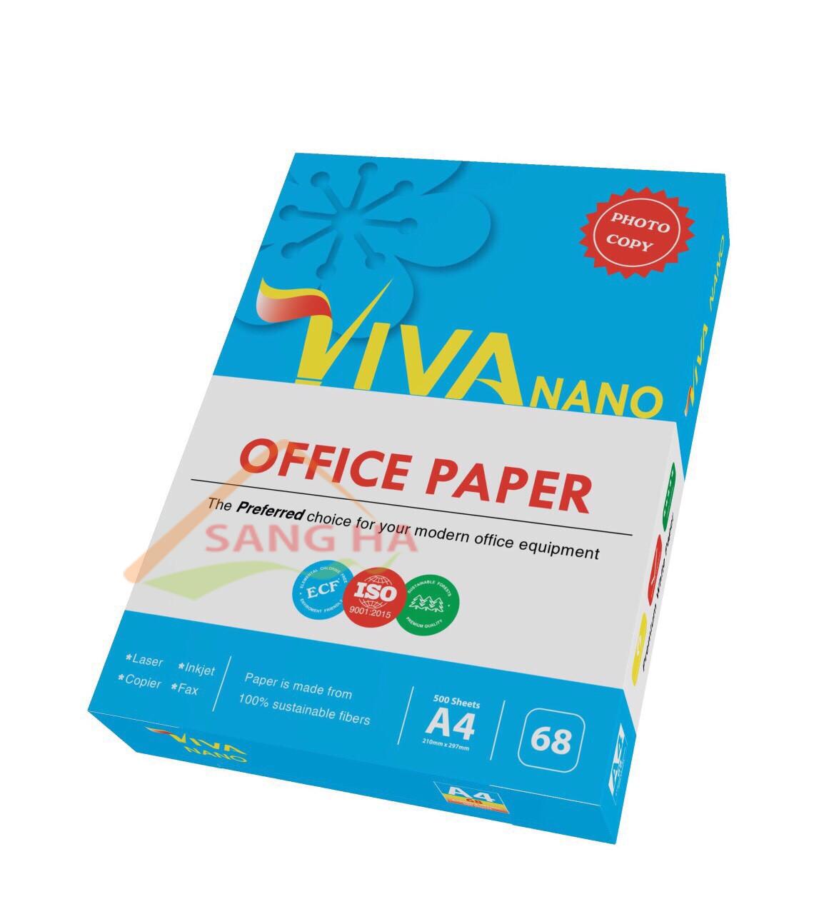 Giấy in Viva Nano 68g a4