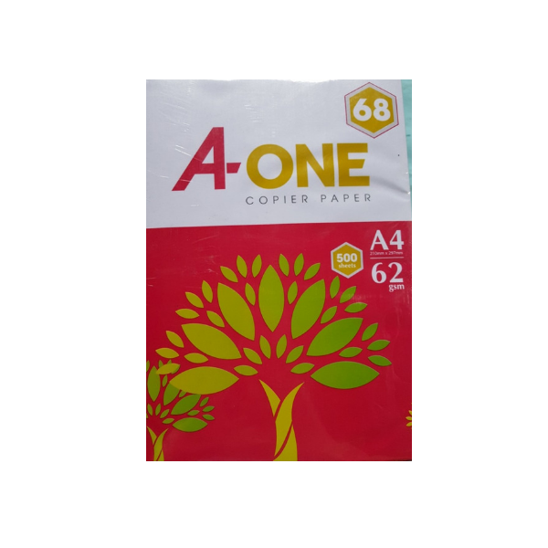 GIấy in A-One A4 Đl 62G