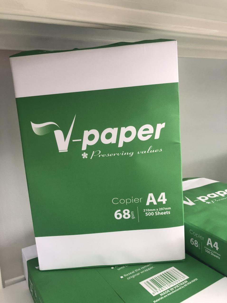 Giấy in V-Paper A4 68gsm
