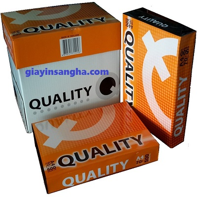 Giấy in Quality 70G A4