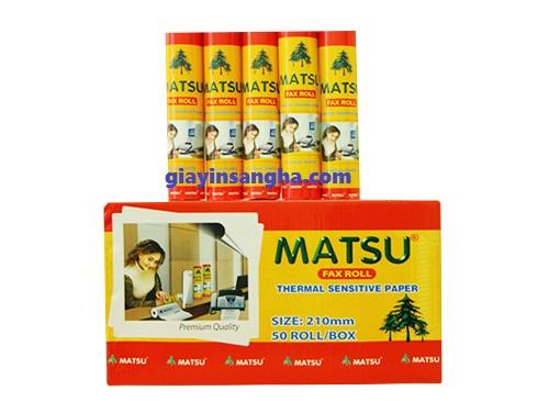 Giấy Fax Matsu