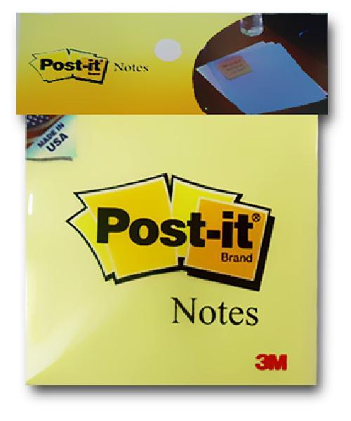 Giấy ghi chú vàng Post-it® 3M 76mm X 76mm (3x3) 654