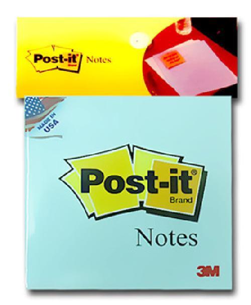 Giấy ghi chú xanh dương Post-it® 3M 76mm X 76mm 654