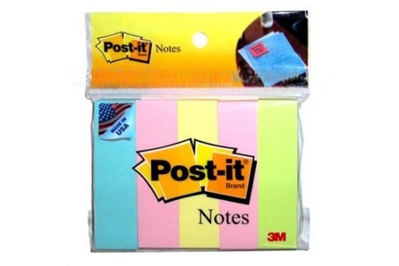 Giấy ghi chú 4 màu 3M Post-it® 20mm X 76mm 671-5