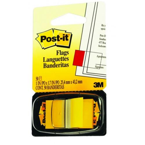 Miếng phân trang vàng 3M POST-IT® 25mmX 43mm 48/CS 680-5