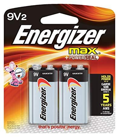 Pin Energizer 9v (vỉ 2 viên)