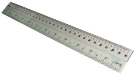 Thước Nhựa Dẻo 30cm