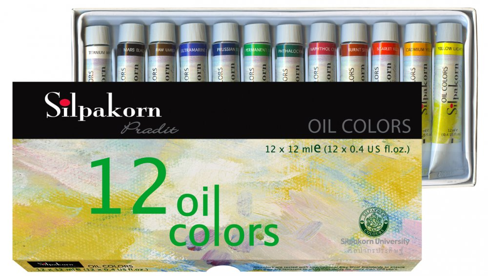 Màu Nước Shilpakorn Oil Color