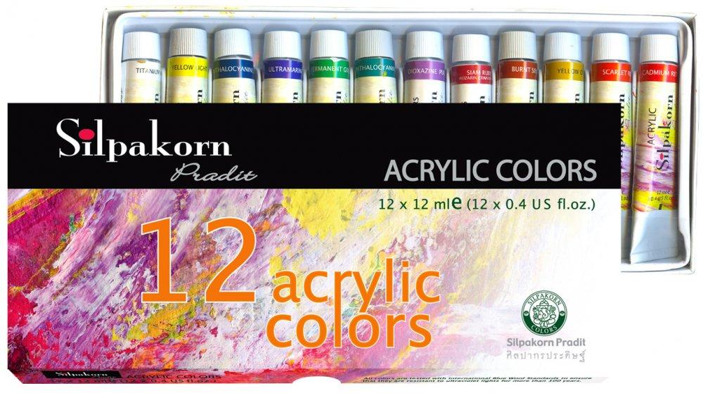 Màu Nước Shilpakorn Acrylic color